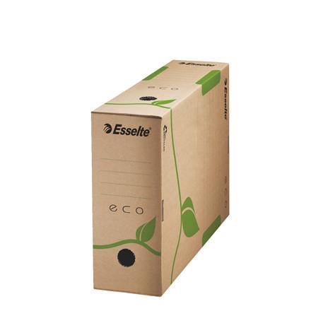Esselte Eco arkivæske 23,3 x 32,7 x 10 cm - naturbrun