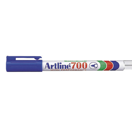 Artline 700 Permanent Marker - Blå 0,7 mm