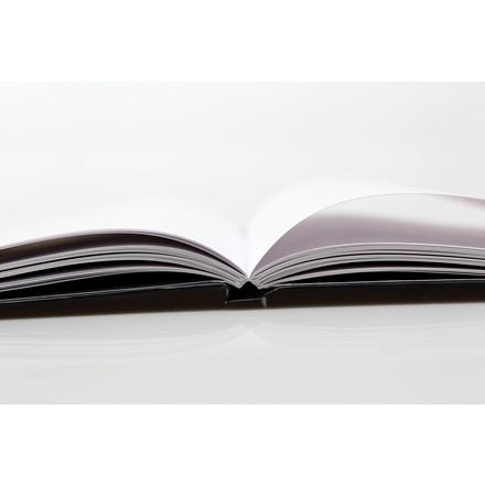 Bantex Notesbog A4 - Sort CPH Copenhagen linjeret - 96 sider