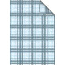 Bantex Skolehæfte A4 - Græsgrøn ternet 5 x 5 mm tern - 40 sider