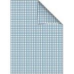 Bantex skolehæfte A5 - græsgrøn kvadreret 5 x 5 mm - 24 sider