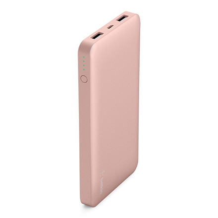Belkin Pocket Power 10K Power Bank, Rose Gold