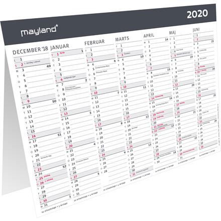 Bordkalender A5 Moderne 21x15cm 20 0581 00