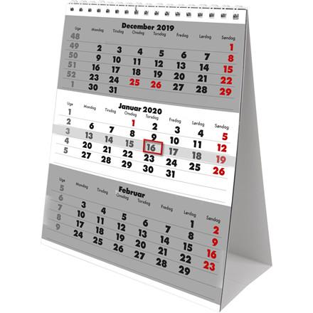 Bordkalender Triplanner 14,8x21cm 20 1310 20