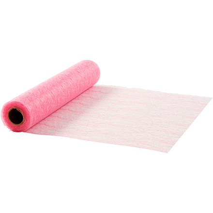 Bordløber bredde 30 cm pink net - 10 meter