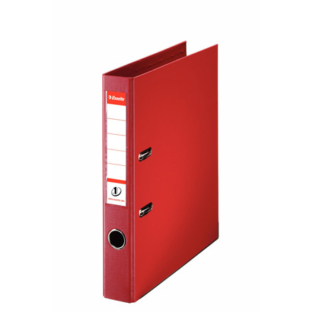 Brevordner Esselte No. 1 A4 rød med 50 mm ryg - 811430