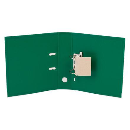 Brevordnere A4 - Q-Line grøn 75 mm bred ryg