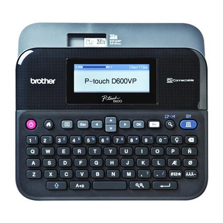 Brother PT-D600VP -  Labelmaskine med kuffert