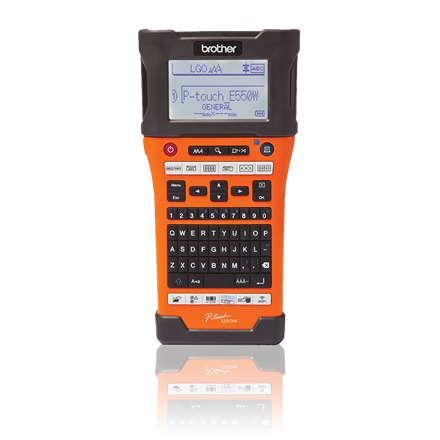 Brother PT-E550WVP - Labelprinter med Wi-Fi