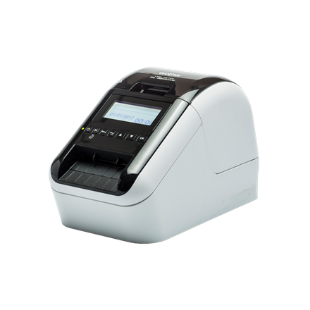 Brother QL-820NWB - Labelprinter med Bluetooth og LCD display