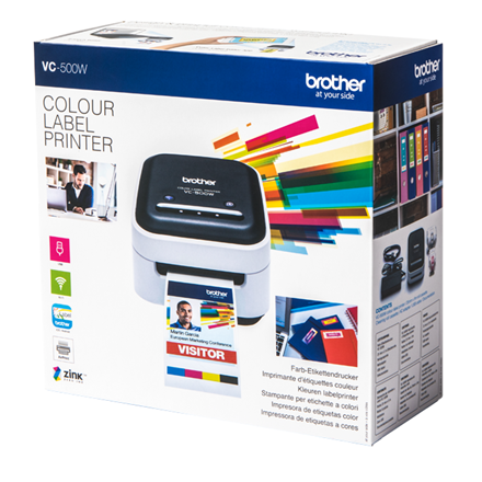 Brother VC-500W - Farve Labelprinter med Wi-Fi