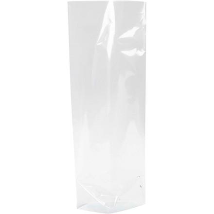 Cellofanpose størrelse 9 x 6,5 cm højde 22,5 cm 25 my | 200 stk