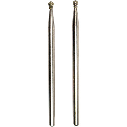 Diamantstift, 1,8 mm, Kugle, 2 stk.