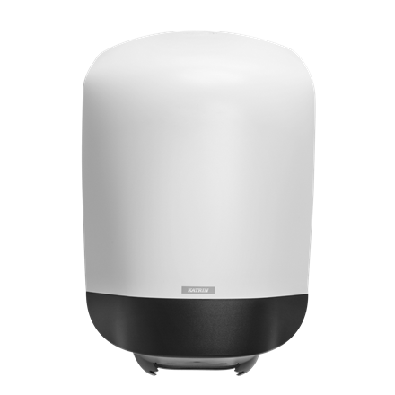 Katrin 90120 Centerfeed M Dispenser til aftørringspapir - Hvid plast