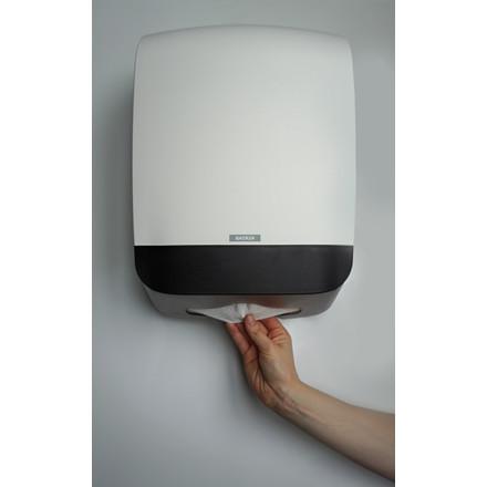 Katrin 90168 Hand Towel M Dispenser til papirhåndklæder - Hvid plast