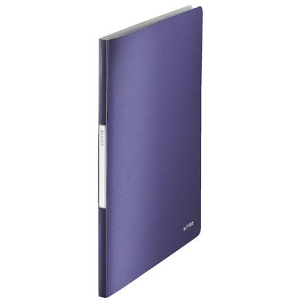 Præsentationsmappe A4 med 20 lommer Leitz Style - Blå