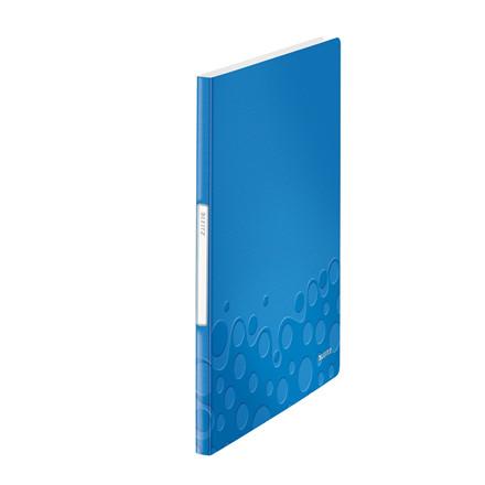Displaybog PP Leitz WOW 20 lommer blå