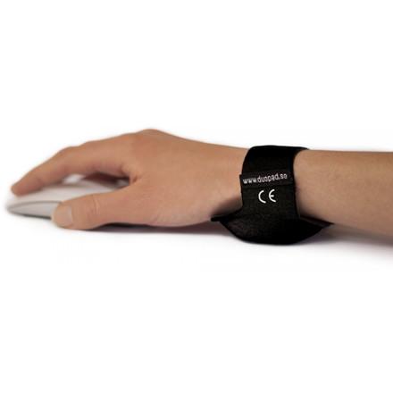 Duopad wrist support black