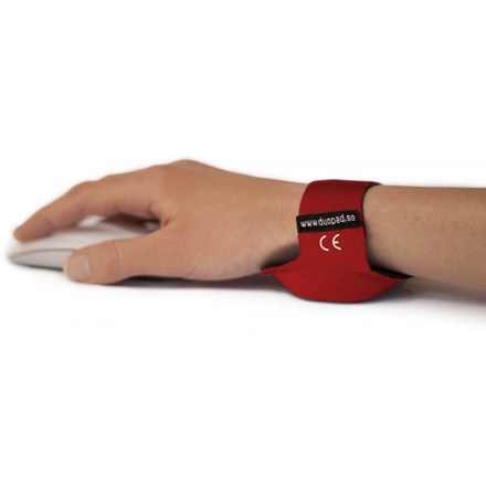 Duopad wrist support red