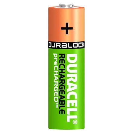 Duracell genopladelgie Batterier - AA 2400 mAh 4 stk i en pakke