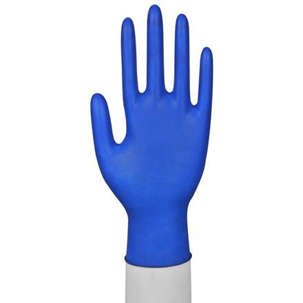 Latex Engangshandsker Large - Blå uden pudder