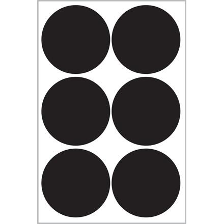 Avery 62017 - Runde etiketter i tavlemateriale Ø: 48 mm - 24 stk