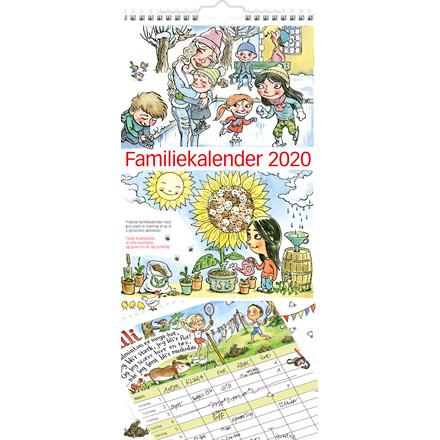 Familiekalender m/illustration 23x50cm 20 0661 00