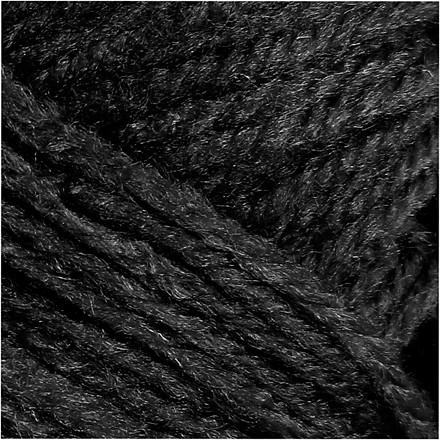 Fantasia Akrylgarn længde 80 meter sort | 50 gram
