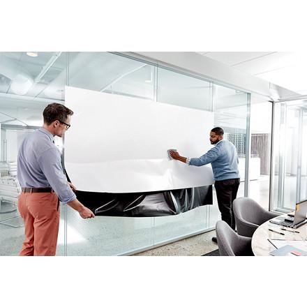 Super Sticky Dry Eraser Film - Post-it 15,24 m x  1,21 m hvid