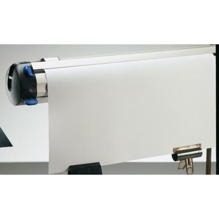 Flipoverrefill Leitz Easyflip 60cmx20m hvid folie - perforeret per 80 cm.