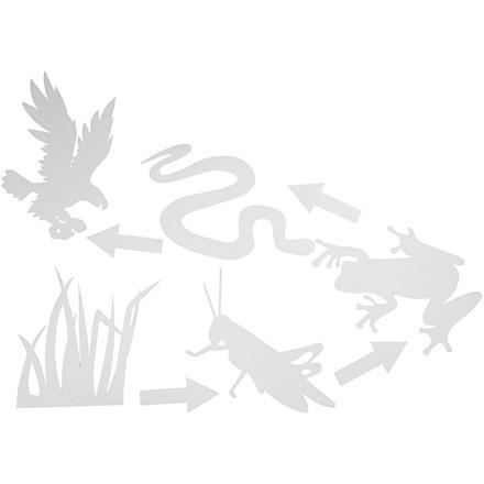 Fødekæde, str. 13-24 cm, 16stk.