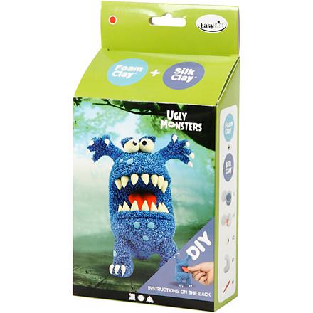 Funny Friends blå monster | 1 sæt