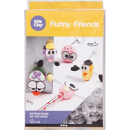 Funny friends small 1 sæt - str 30 x 18 x 5 cm