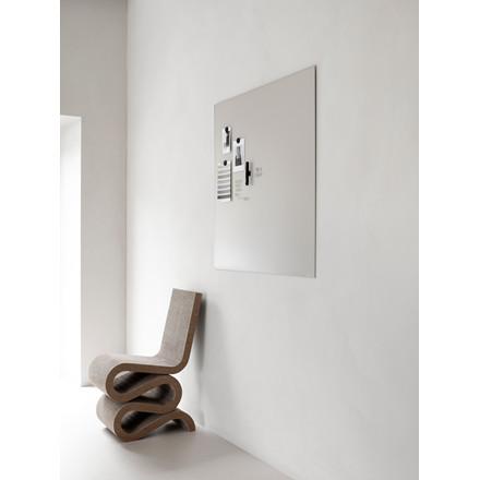 Glastavle Lintex Mood Wall Silk 100 x 100 cm - Frank