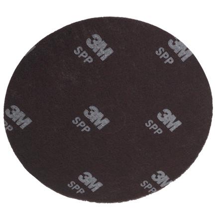 Gulvrondel, 3M, rødbrun, huldiameter 85 mm, 13 tommer