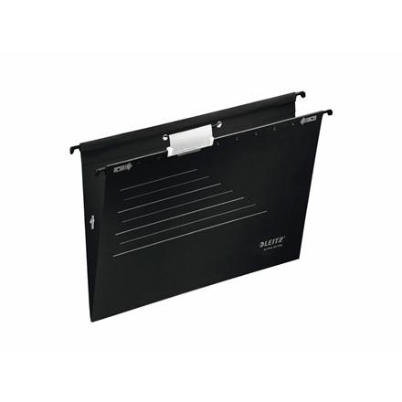 Hængemapper med elastik A4 sort - 5 stk. pr. pakke