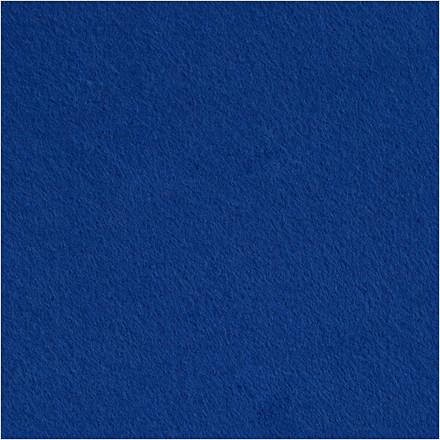 Hobbyfilt bredde 45 cm tykkelse 1,5 mm blå | 1 meter