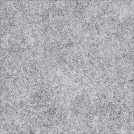 Hobbyfilt bredde 45 cm tykkelse 1,5 mm grå meleret | 1 meter