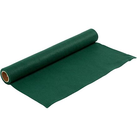Hobbyfilt bredde 45 cm tykkelse 1,5 mm mørk grøn | 1 meter