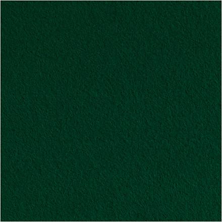 Hobbyfilt bredde 45 cm tykkelse 1,5 mm mørk grøn   1 meter