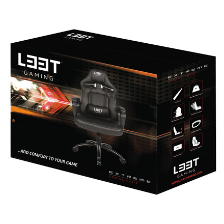 Gamerstol Extreme L33T PU Gaming Mid Level - sort