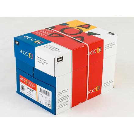 Kopipapir 4CC A3 100 gram til farve kopi-InkJet-laser - 500 ark