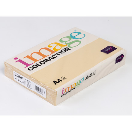 Kopipapir - Image Coloraction A4 80 gram - Sand beige 14 - 500 ark