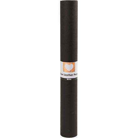 Læderpapir bredde 50 cm tykkelse 0,55 mm sort | 1 meter