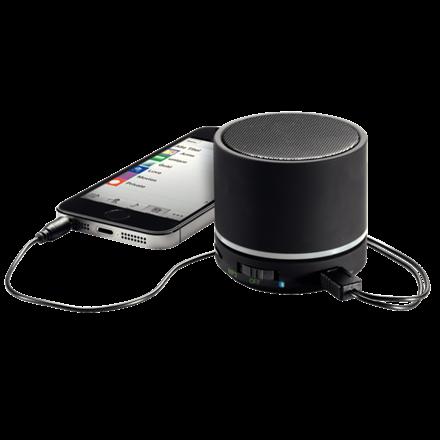 Leitz Mini bluetooth højttaler med indbygget mikrofon - Sort