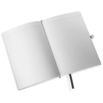 Leitz Notesblok - Style A5 Soft linieret sort - 80 sider