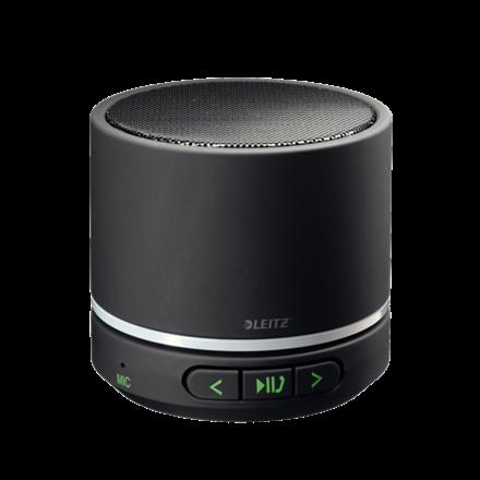 Leitz Mini bluetooth sort højttaler - indbygget mikrofon