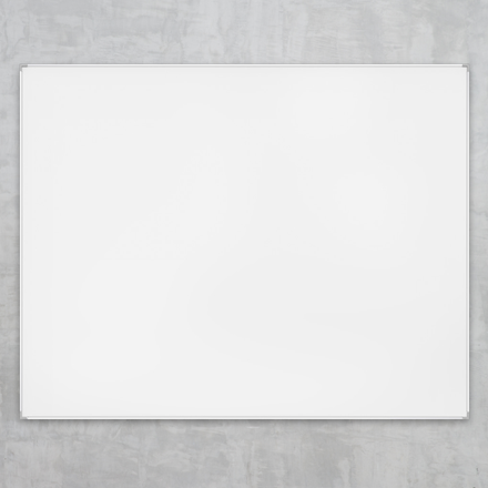 Lintex Boarder Whiteboardtavle med lakeret overflade og aluramme - 180 x 120 cm