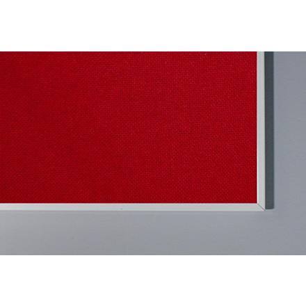 Opslagstavle Lintex Boarder stof med aluramme 120 x 120 cm - FLERE FARVER