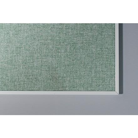 Opslagstavle 250 x 120 cm med farvet stof og aluramme Lintex Boarder - FLERE FARVER